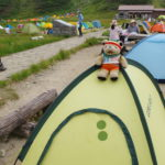 室堂山ハイキング(雷鳥沢でテント泊) 2日目                (2020年8月29日~8月30日)