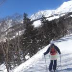 栂池自然園へスキーハイキング 2021年2月6日(土)