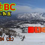【テレマークスキーBC】天狗原バックカントリー。栂池高原スキー場から 2021/4/24(土)