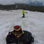 【乗鞍大雪渓BC】BCクロカンで滑って登って 2021/6/27(日)